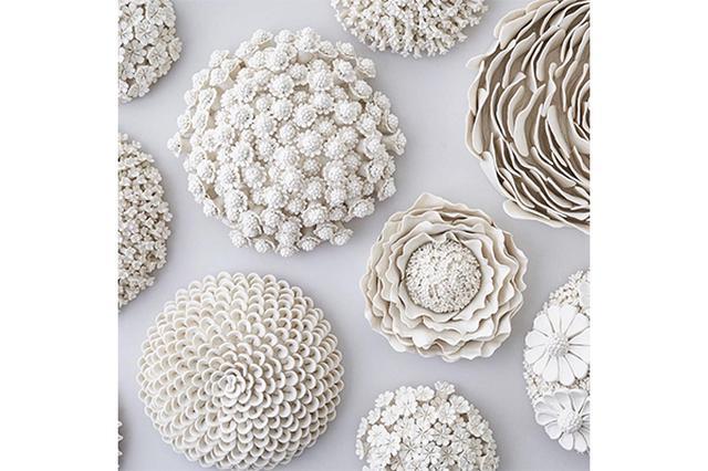 画像: 部屋が一瞬で華やかに♡セラミック製のお花のオブジェが繊細でステキ