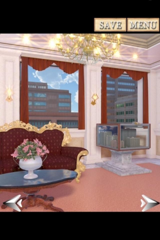 画像: 猫のイタズラで閉じ込められた?豪華なスイートルームから脱出するゲームアプリ『Hotel The Cat』