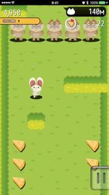 画像: 主人公がとってもキュート♡ネズミになって猫の大群から逃げるランアクションアプリ『ドタバタラッシュ』