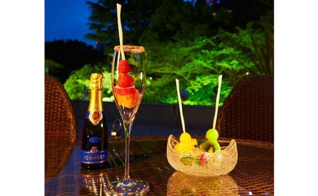 画像: 東京タワーを眺めながらフルーツ&シャンパン♪東京プリンスホテルの女子会プランがオシャレ♡