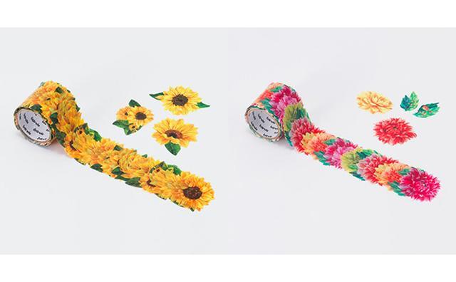 画像: 貼るたびにテンション上がる♡カラフルなお花の新作マステがヴィレヴァンに登場!