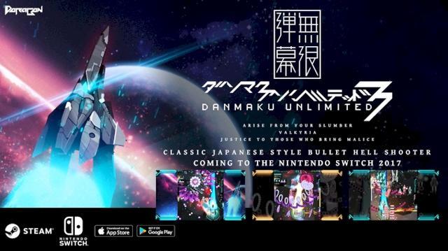 画像: 【8月10日リリース】弾幕シューティングアプリの最高峰シリーズに新作が登場!『Danmaku Unlimited 3』