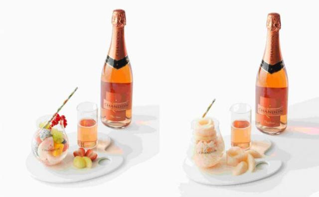 画像: フルーツ×スパークリングワイン♡土日祝限定「大人のひんやりデザート」が新宿高野に登場!