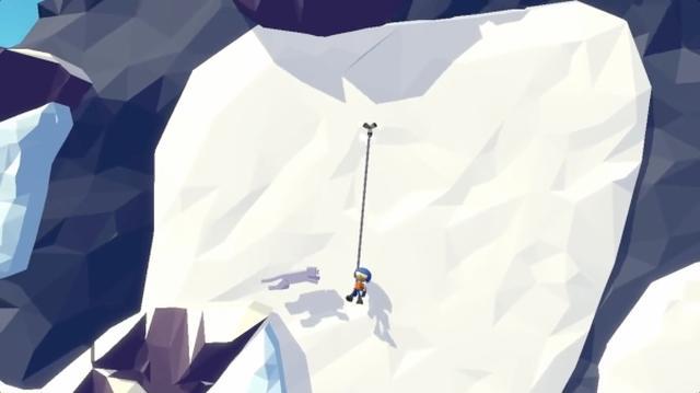 画像: 【近日リリース】ワイヤーアンカーで危険な崖を登るアクションアプリ『Hang Line』がおもしろそう♪
