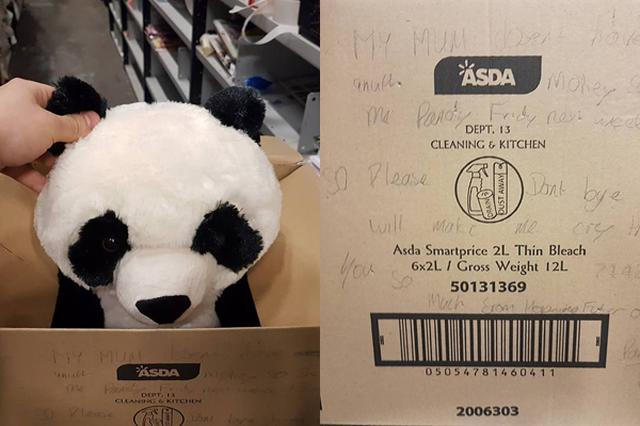 画像1: ある男の子の「これが欲しい」という並々ならぬ思いに、多くの人が心動かされている。 英リバプールに住むレオン・アシュワース君(10)が一目惚れしたのは、スーパーマーケット「ASDA」のハンツ・クロス店で売られていたパンダのぬいぐるみだ。 ちなみに棚に残っていたのはこれが最後。しかしこの日、レオン君はパンダを買ってもらうことができなかった。 なぜなら、この日は母デビーさんの給料日前。翌週の給料日までぬいぐるみはお預けになったのだ。 でも、それまでに最後の1つが売れてしまうかもしれない...そう思ったレオン君はある手段に打って出た。 異変に気付いたのはスーパーの店員だ。 売り場責任者のデイヴィッド・ベイトマンさんは、パンダが、手書きのメッセー [...] irorio.jp