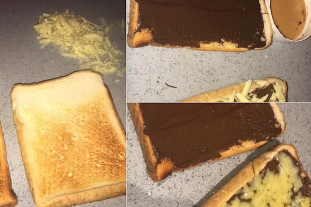 画像1: ある女性がツイッターに投稿した「チョコレート&チーズトースト」が話題になっている。 Hi twitter so heres my amazing choc and cheese invention which I'm eating as I tweet xx pic.twitter.com/qUShWJSv7Z — Houda (@h_xxda) 2017年7月2日 (ハイ、ツイッターの皆さん。これが私が考えたチョコとチーズの素晴らしい発明品。今ツイートしながら食べているわ) トーストにチョコとチーズをのせて 彼女の投稿写真を見ると、次のような作り方をするらしい。 ↑ パンを焼いてトーストにする。 ↑ トーストにチョコレ [...] irorio.jp