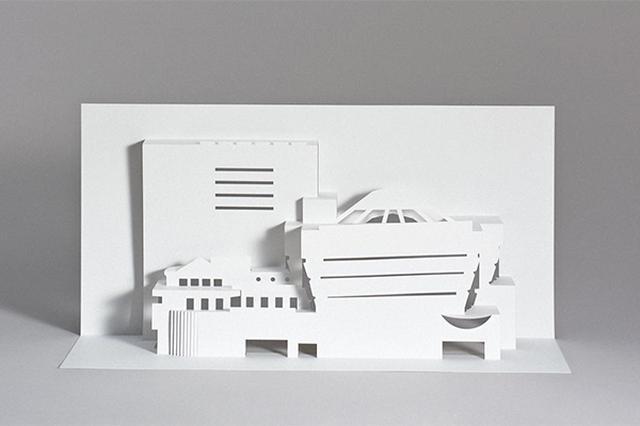 画像: 近代建築の巨匠フランク・ロイド・ライトのアイコニックな建物がDIYできるペーパークラフトブックがユニーク
