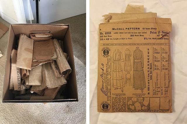 画像1: 裁縫教室の先生、米オハイオ州在住のベスさん。彼女は両親から、ある存在について聞いていた。 それは屋根裏にあるはずだという、洋服のパターン(型紙)。高祖母(ひいひいおばあちゃん)が残した、非常に古いものだ。 7月7日(日本時間)、ベスさんはある箱を見つけ出し、その内容を海外掲示板のimgurに投稿した。 ▼ベスさんが発見した箱 その歴史を感じる中身が、注目を集めている。 古いパターンが入っていた 箱の中に入っていたのは、両親が話していたように歴史を感じるパターンの数々だった。 ▼一番上にあったパターン入り封筒。日付は1899年 ▼1903年のもの ▼封筒には作り方の解説も ▼こんな感じでまとめられているものもあった 自作のパターンも [...] irorio.jp