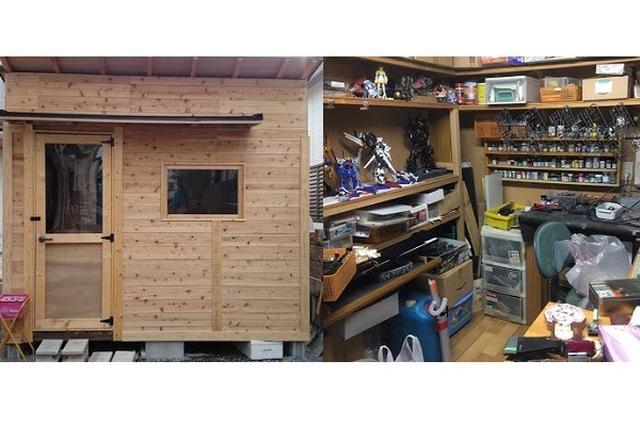 画像1: ガンプラ製作のために専用の「小屋」を作ったというツイートに注目が集まっています。 「プラモ専用小屋」を基礎から手作り! これはNHKEN2(@nhken3)さんが、自宅の庭に作った「プラモ専用小屋」だそうです。 最近聞くプラモ捨てましょう話から 嫁さん、旦那がプラモ支持しておのろけ話、 そして自分は、家族から邪魔扱いにされたプラモ制作のお陰で建築技術を習得し、1/1プラモ専用小屋を制作したのです、ハラショー pic.twitter.com/Z1bf3IItZ5 — NHKEN2 (@nhken3) 2017年7月5日 NHKEN2さんの趣味はガンプラの製作なんだとか。 しかし、ガンプラの製作には、たくさんのキットや道具が必要になりま [...] irorio.jp