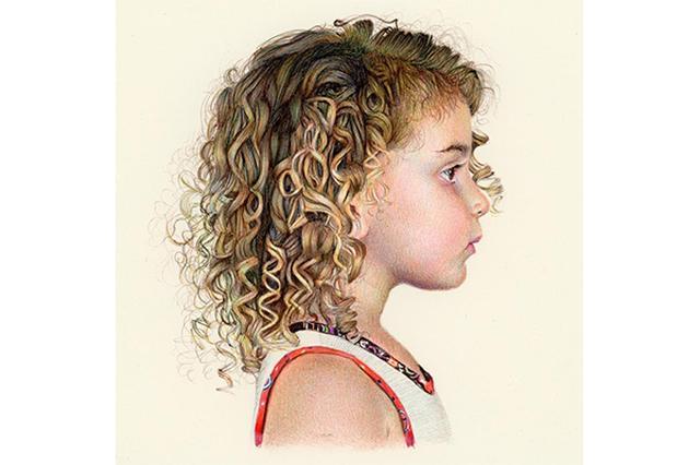 画像: 信じられない...!3色のボールペンのみで描かれた肖像画がリアルすぎる