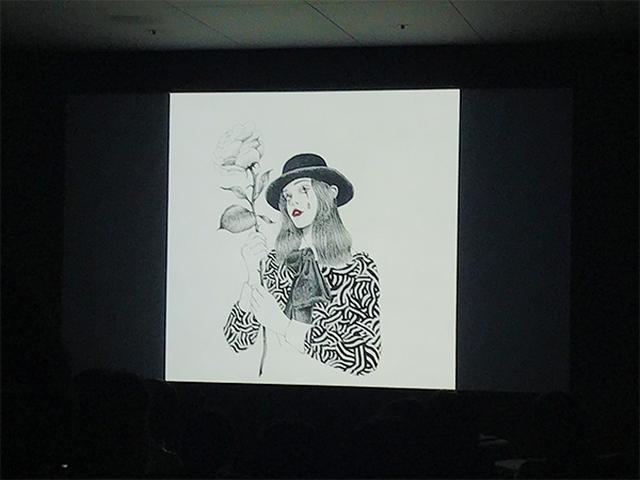 画像: アナログタッチのイラストもiPad Proで再現。ファッションイラストレーター福田愛子さんのLive Artに参加してきた♩