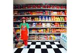 画像: ぜんぶハンドメイド!コンビニ店内を丸ごとフェルトで再現したアート作品がキュートすぎる