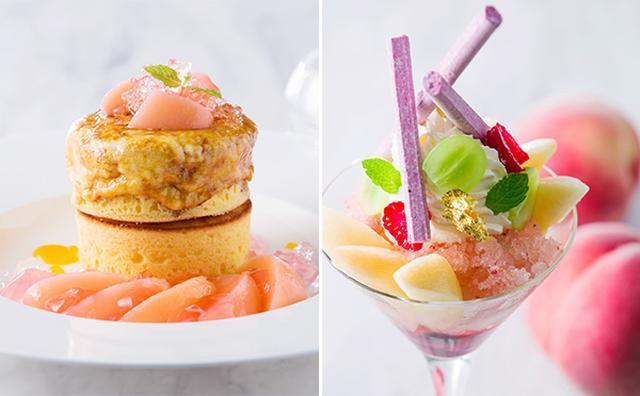 画像: 夏はやっぱり桃♡ホテルインターコンチネンタル東京ベイの桃のパンケーキ&パフェが食べたい♩