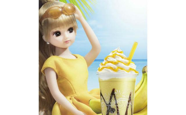 画像: モデルにリカちゃんが就任!GODIVA夏の新作「ショコリキサー」はホワイトチョコ&バナナ☆