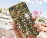 画像: 古畑星夏もお気に入り。ぷっくりハートのメタリックiPhoneケースが派手すぎずおしゃれ♡