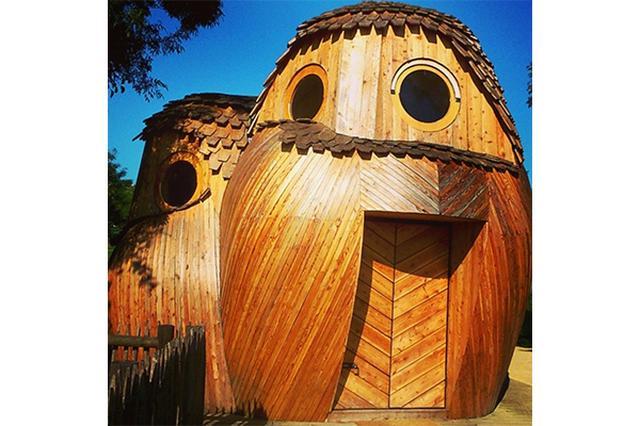 画像: ガロンヌ川周辺の自然も楽しめる♪仏・ボルドーにあるキュートなフクロウ型のキャビンに泊まりたい