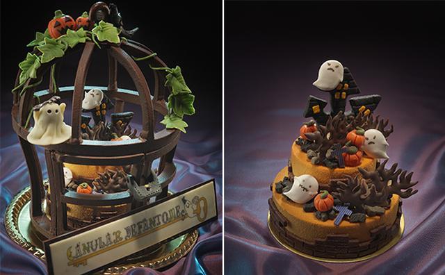 画像: もはやアート級☆ハロウィンを表現した豪華ケーキがリーガロイヤルホテルに登場!