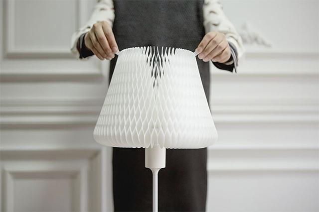 画像: 形・色・明るさがアプリで簡単に操作できるランプシェードが秀逸♩