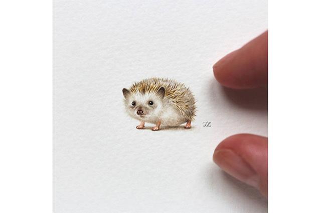 画像: 小さいけど超リアル!直径3センチのミニチュア絵画が繊細すぎる