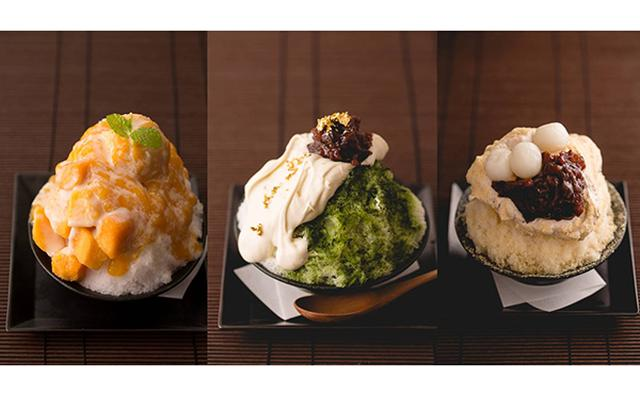 画像: 和スイーツ好きはマストチェック!「権八」のそば茶や抹茶を使ったフワフワ極上かき氷