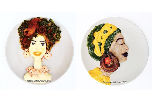 画像: 鮮やかで美しい!ムスリム文化を表現した「食べ物アート」がステキ