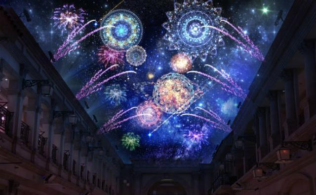 画像: NAKED×日本一の星の村☆屋内日本最大級の花火大会がお台場ヴィーナスフォートに出現!