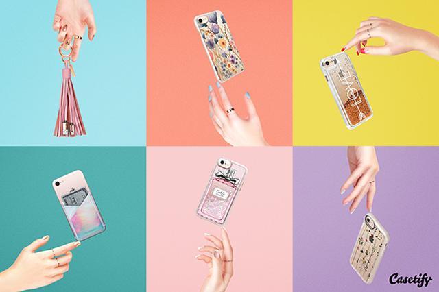 画像: 「Casetify」初のポップアップストアが大阪にオープン! 人気のグリッターiPhoneケースを手に入れるチャンス♡