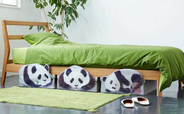 画像: キュートなパンダがお部屋でかくれんぼ♪フェリシモの収納ボックスが機能的でかわいすぎる♡