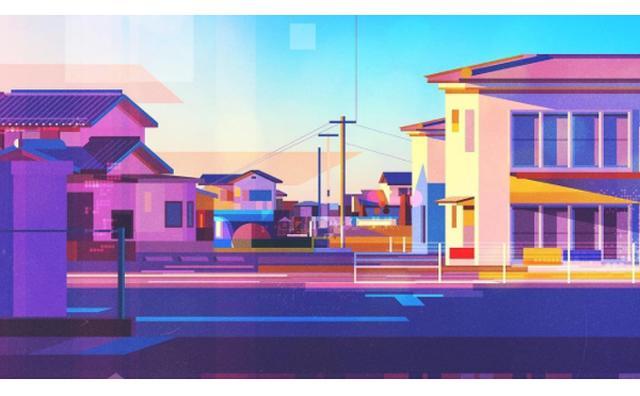 画像: 見慣れているはずなのにどこか新しい...外国人アーティストが描いた日本の風景が斬新!