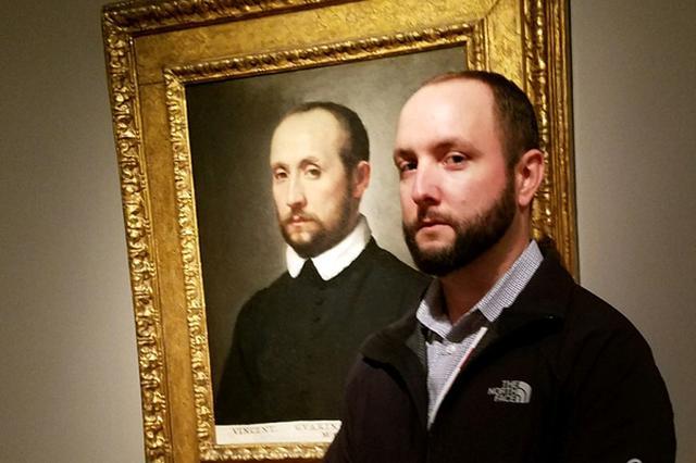 画像: 美術館で自分と瓜二つの肖像画に出会った人々