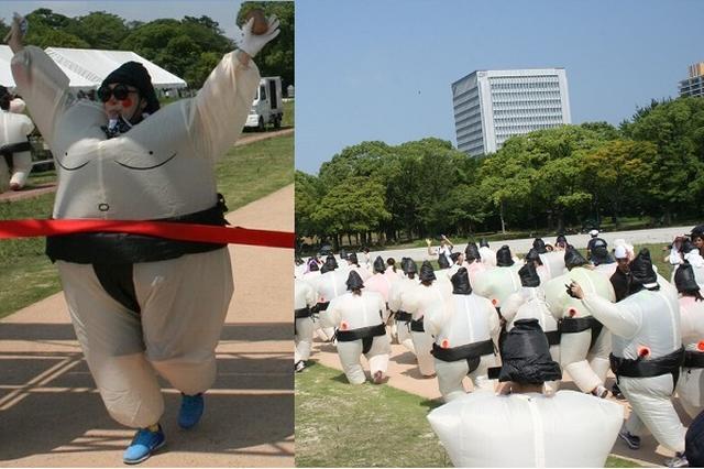 画像: 【取材】お相撲さんの仮装で走る「スモウラン」開催へ!熊本地震の被災地を支援