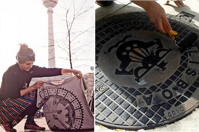 画像: マンホールは「着る」時代に!ベルリン発のアートプロジェクト