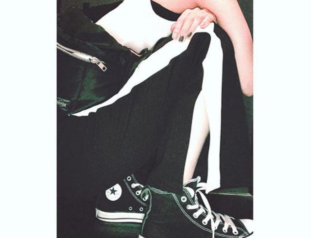 画像: おしゃれインスタグラマーに学ぶ!秋も使えるラインパンツの着こなし術