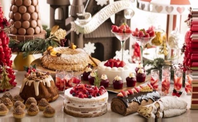 画像: いちご×クリスマス♡人気テーマがコラボしたヒルトン小田原のデザートブッフェが魅力的