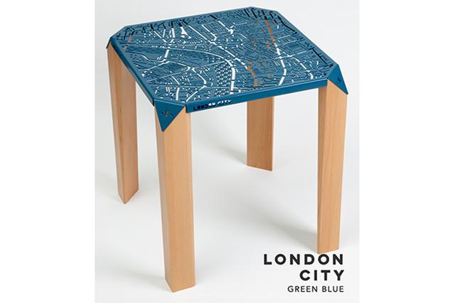 画像: 地図好きにはたまらない♪NYやロンドンの街を一望できる「マップ・テーブル」がスタイリッシュ