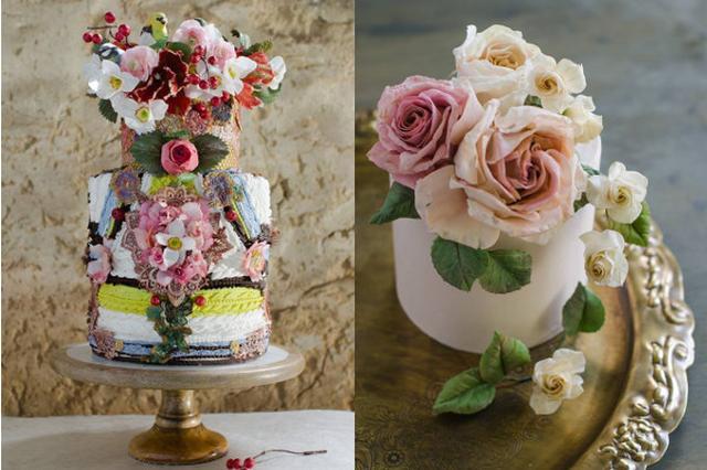 画像: ホワイトハウスからも注文がくる「生花のようなケーキ」の美しさに目を奪われる