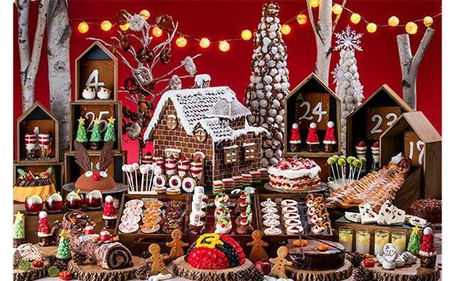 画像: クリスマスマーケットの世界をスイーツで表現♡ヒルトン東京お台場のデザートブッフェが夢のよう!