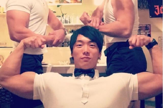 画像: ありがとうございマッチョ!京都の夜を筋肉でもてなす「マッチョバー」が話題