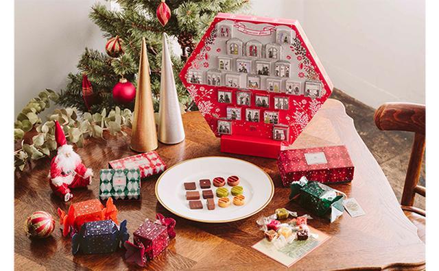 画像: 仕掛けが楽しいアドベントカレンダーも!アンリ・ルルーのクリスマス限定コレクションが華やか