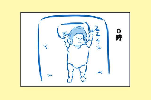 画像: 【4コマ】第16話「寝相時計」☆パパはギタリスト