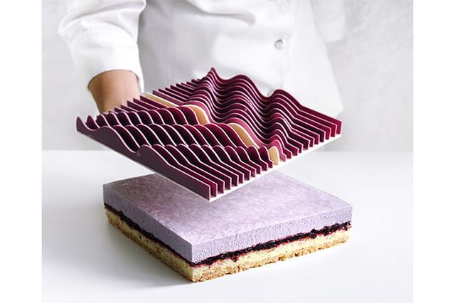 画像: まるで現代アートみたい!幾何学的なデザインのケーキがスタイリッシュ