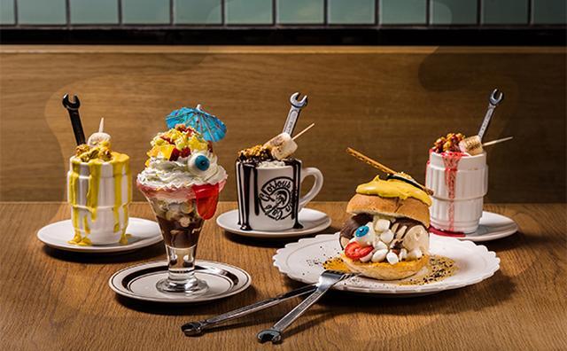 画像: スイーツの妖怪がずらり!ディーゼルのカフェにインパクト大のハロウィンメニューが登場
