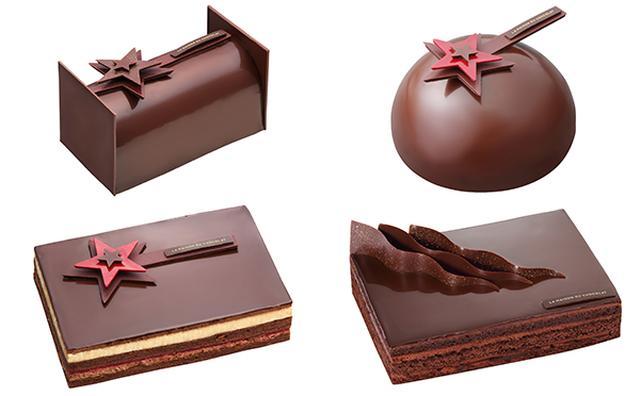 画像: 星に願いをかけてみる?ラ・メゾン・デュ・ショコラからシックなクリスマスケーキが登場☆