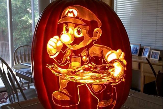 """画像: マリオ、ディズニー、スターウォーズ!細かすぎる""""かぼちゃアート""""がド迫力"""