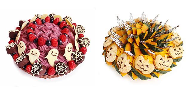 画像: オバケちゃんと目が合いそう...!カフェコムサのハロウィン限定ケーキに思わずニコリ♡