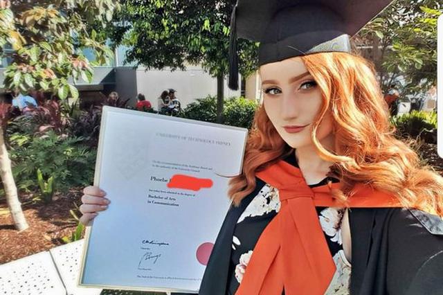 画像: 「お前はバカだ」学習障害を乗り越えて専門学校を卒業した女性の投稿に勇気付けられる