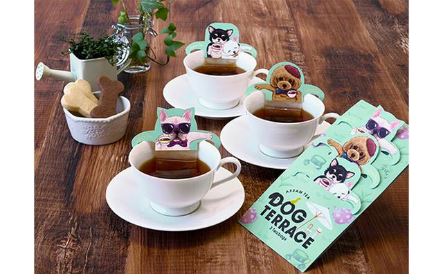 画像: 茶目っ気たっぷりなワンコに心もポカポカ!犬好き必見のティーバッグで和みの紅茶タイムを♡