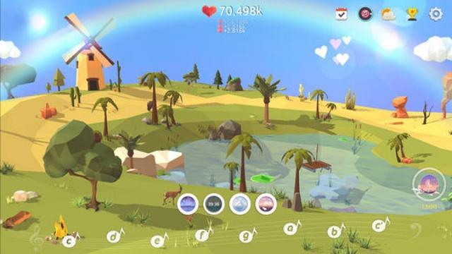 画像: 1日の終わりにまったりプレイ!箱庭育成ゲームアプリ『マイオアシス』に癒される♩