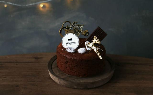 画像: 大人の聖夜にぴったり♡ビーントゥバー専門店「ミニマル」に初めてのクリスマスケーキが登場