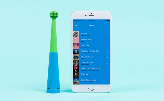 画像: 歯磨きのBGMは大好きなあの曲!スピーカー内蔵型電動歯ブラシが楽しい☆